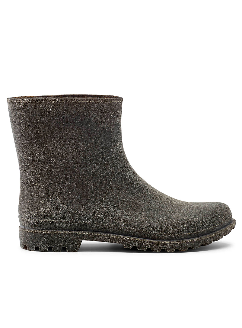 Simons Fawn Recycled coffee rain boots for women