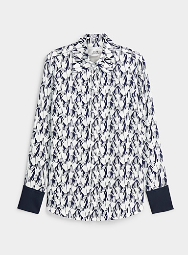 Victoria Victoria Beckham Assorted Surrealistic hands blouse for women