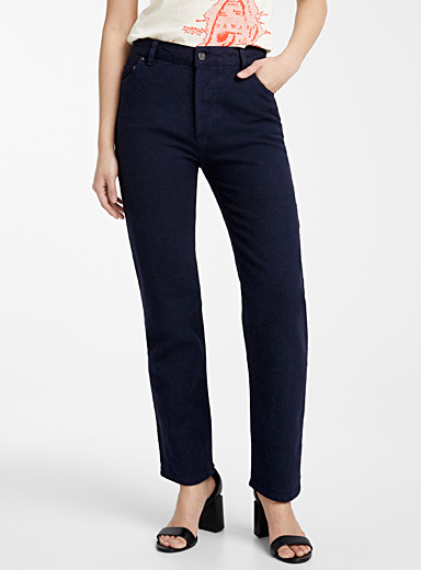 Victoria Victoria Beckham Oxford Straight-leg jean for women