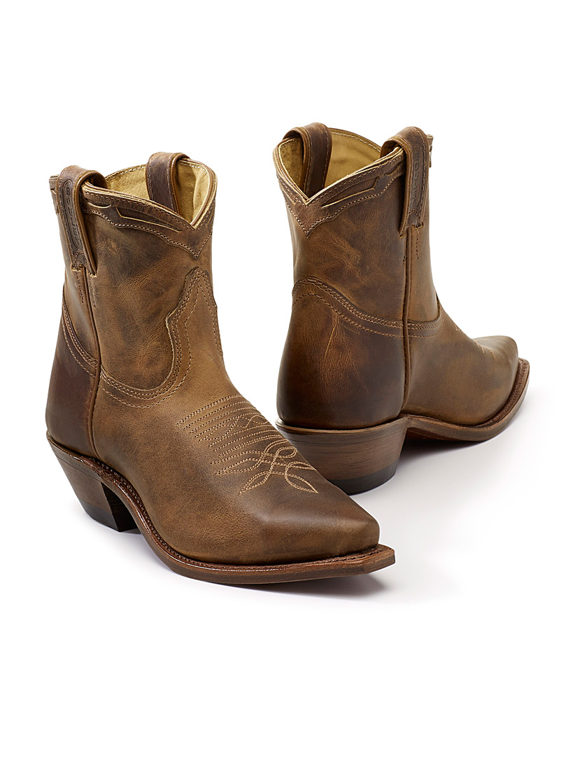 La botte western 8225  Femme - Marques canadiennes - Tan beige fauve
