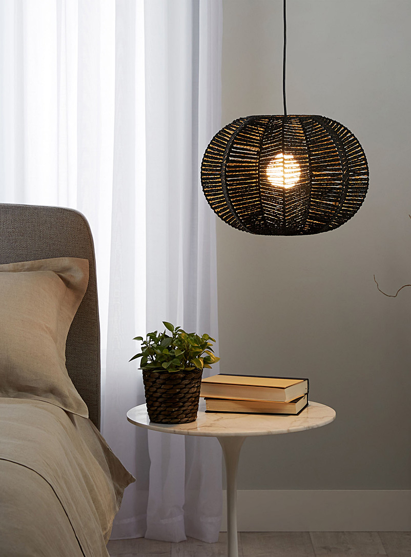 Petal pendant light - Pendant Lights - Black