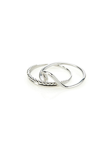 Surfer rings  Set of 2