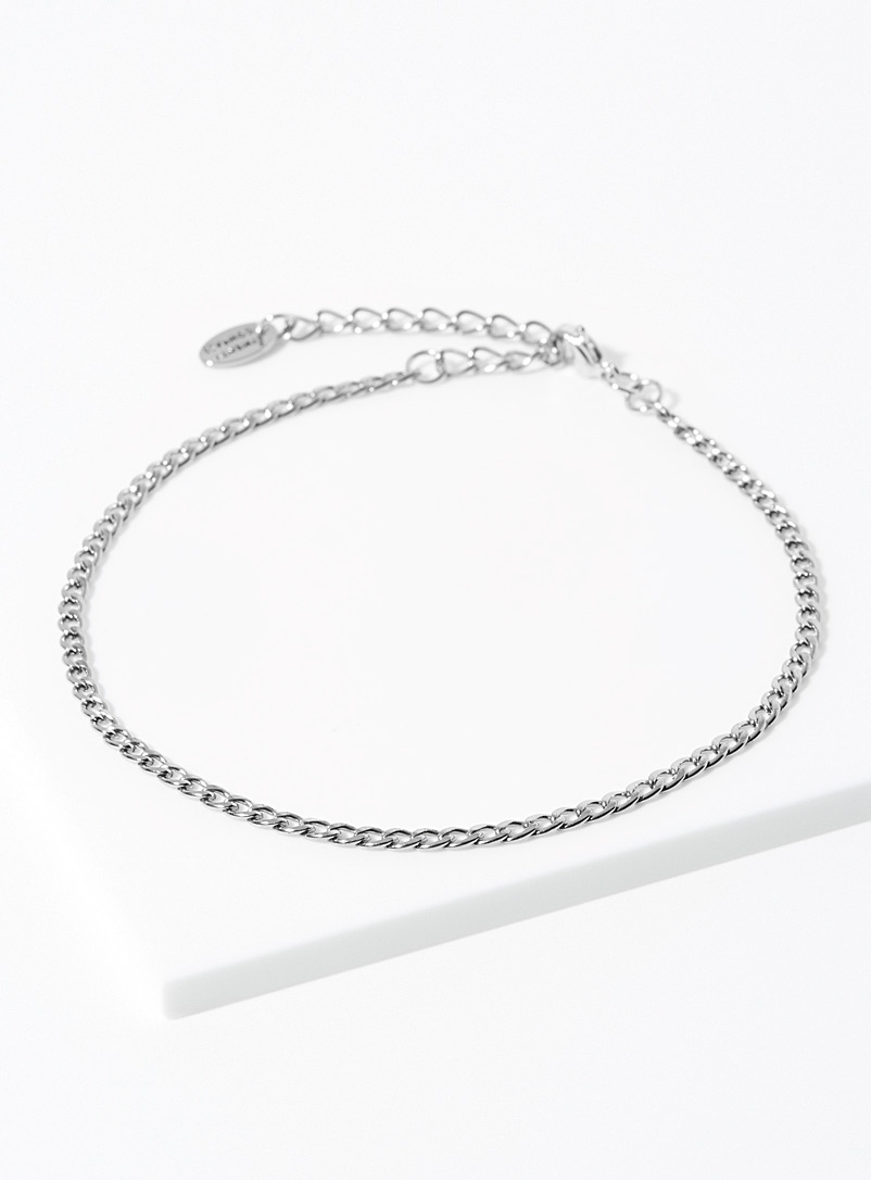Twenty Compass Silver Kira anklet for women