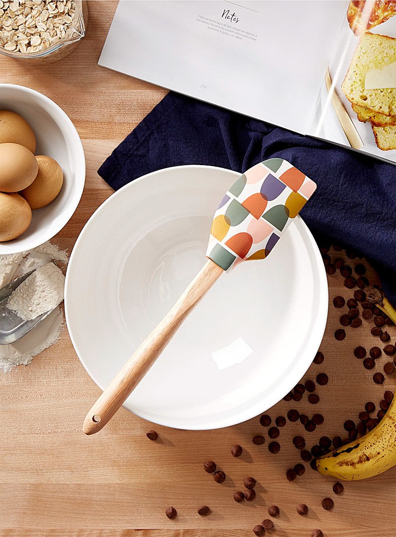 Simons Maison Assorted Abstract pebbles silicone spatula