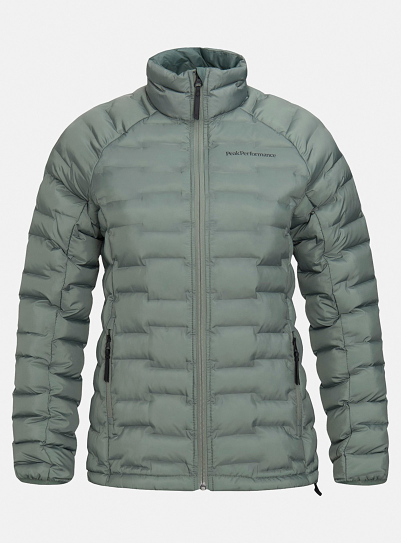 Argon eco-friendly puffer jacket