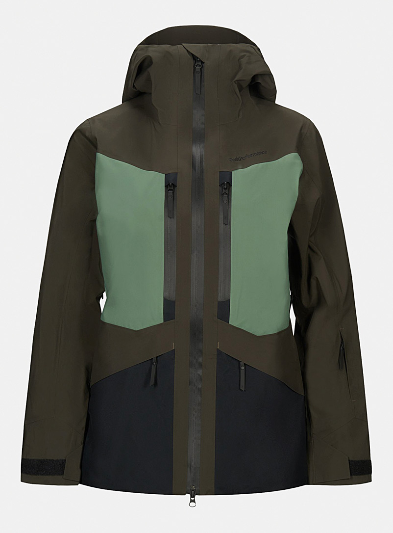 Peak Performance Mossy Green Gravity jacket  Semi-slim fit for error