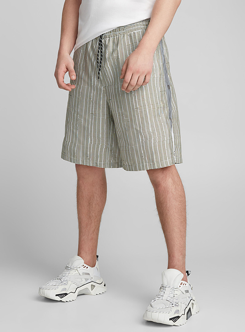 Glico short - Andrea Crews - Patterned Grey