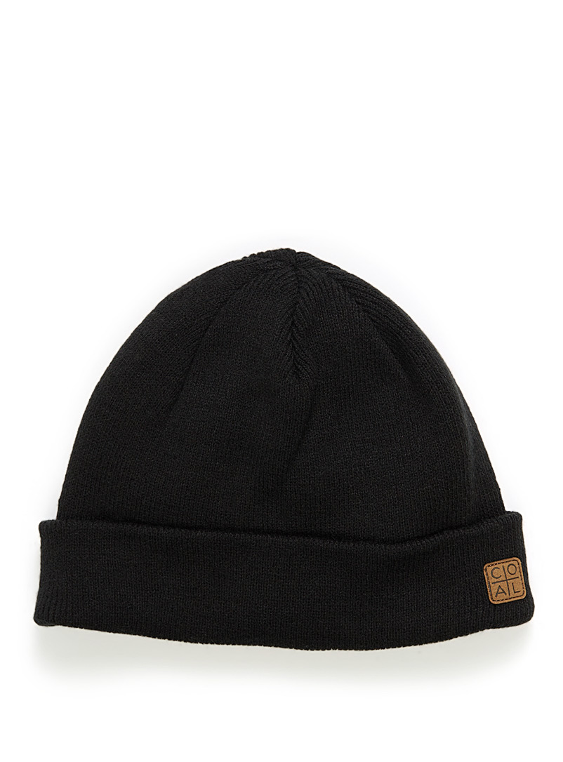 Coal Black The Harbor tuque for men