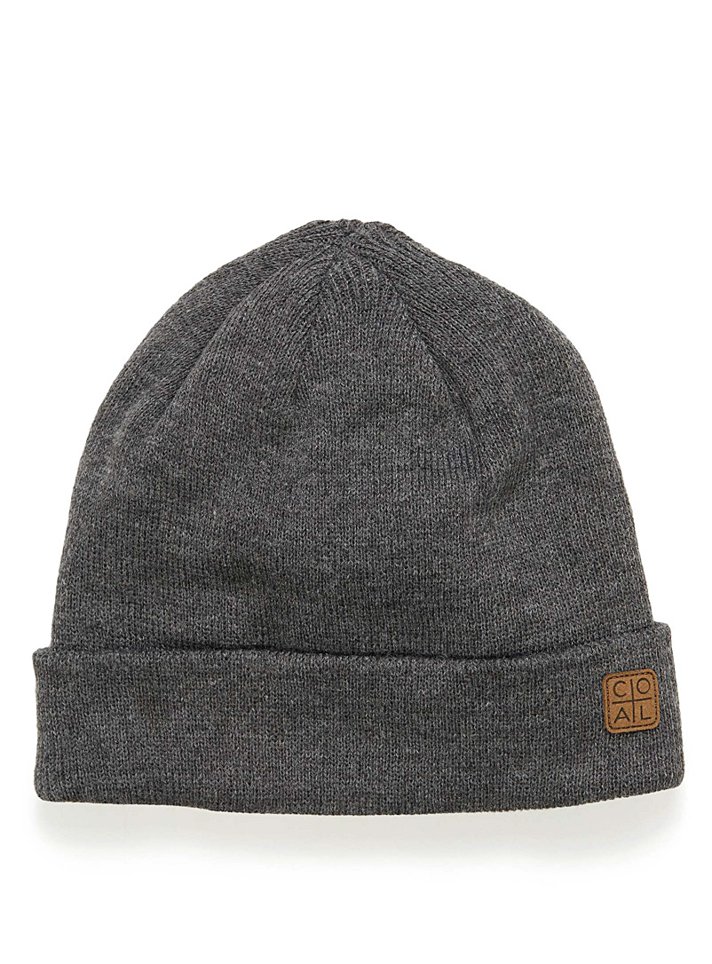 Coal Charcoal The Harbor tuque for men