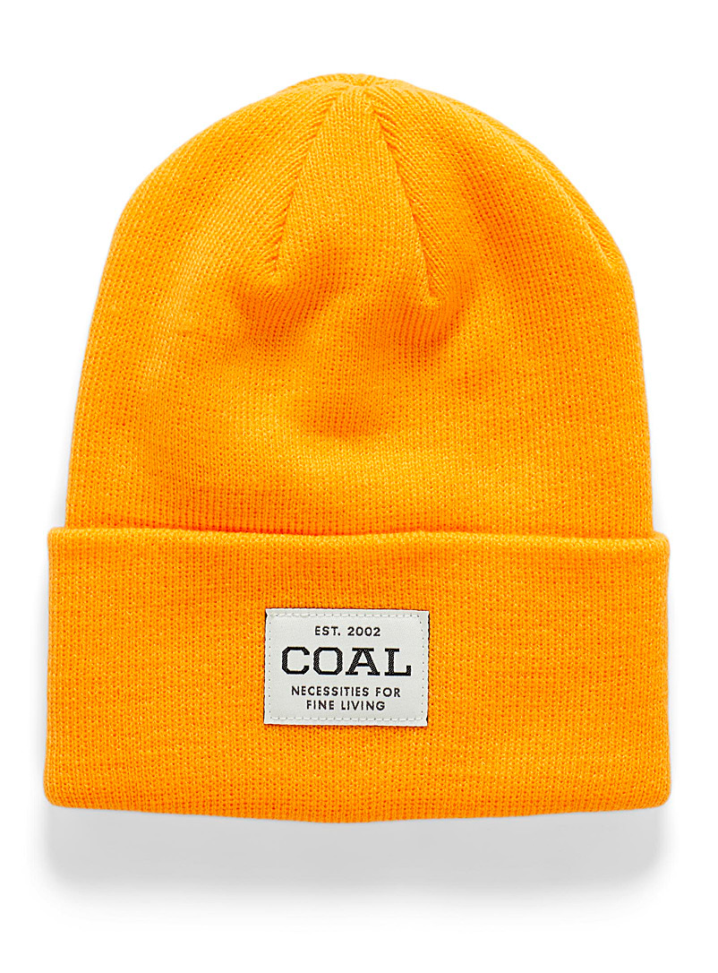 Coal Ruby Red The Uniform essential tuque for women