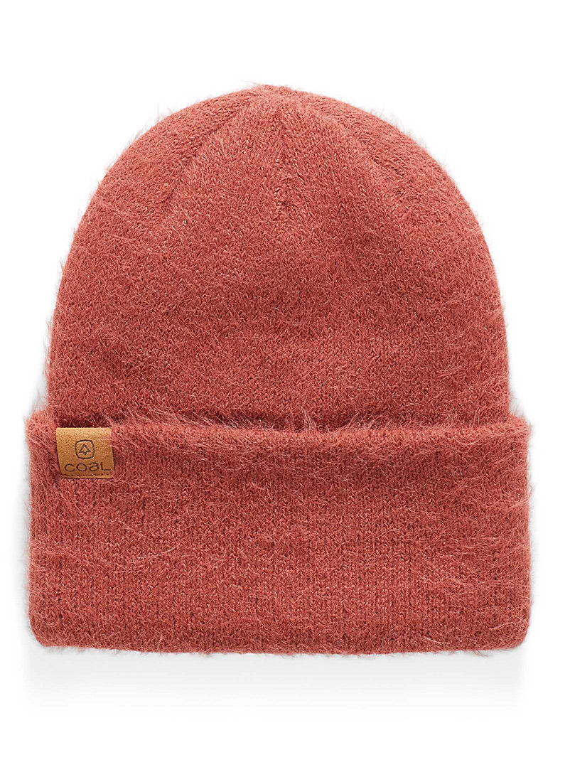 Coal Copper The Pearl velvety tuque for women