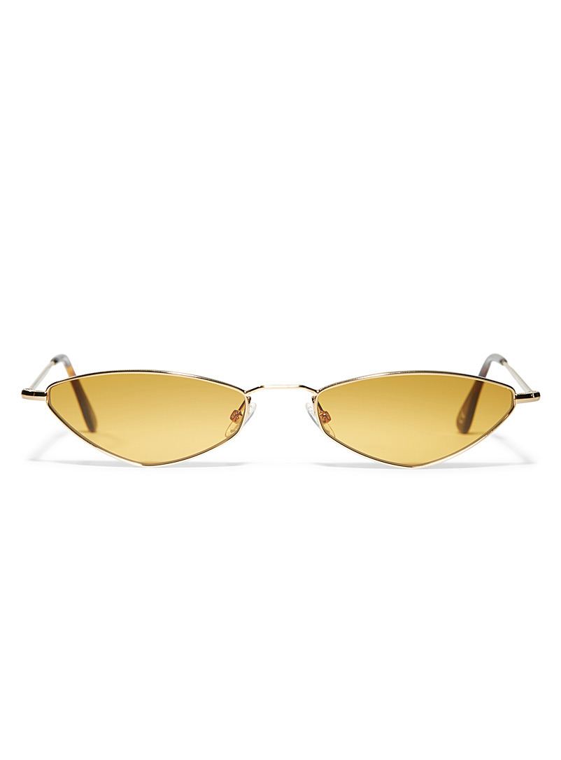 Eliza sunglasses - Designer - Golden Yellow