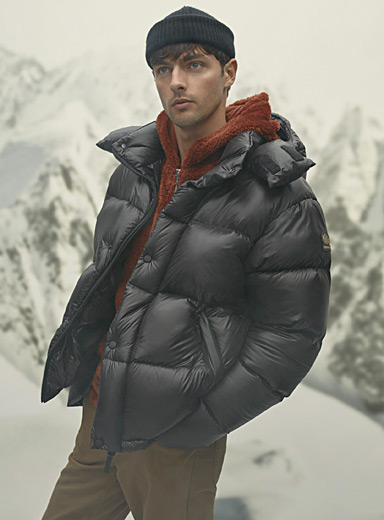 Misto shiny down puffer jacket