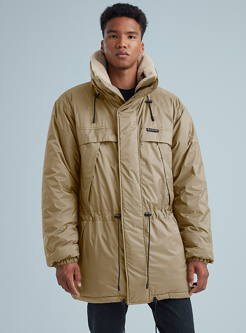 Kanuk Light Brown Toundra parka for men
