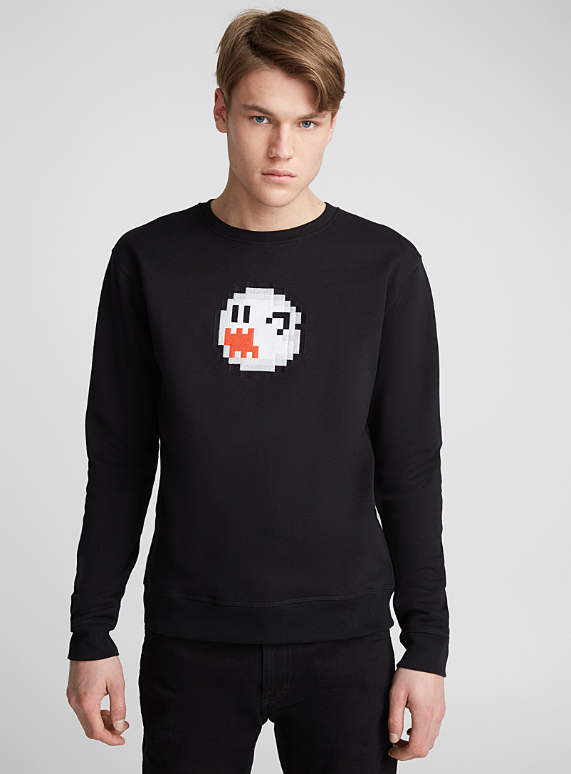 Ghost sweatshirt - Sweatshirts & Hoodies - Black