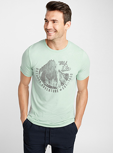 Adventure graphic print T-shirt