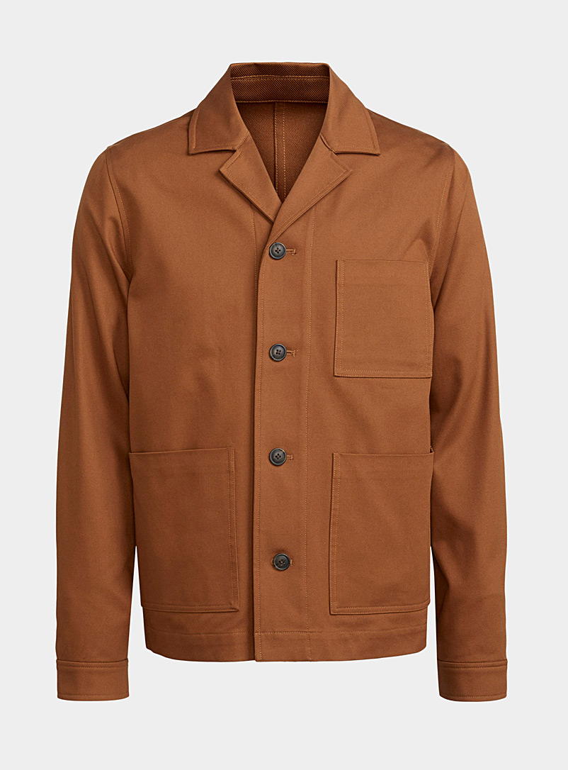 Samsoe & Samsoe Copper Amber worker jacket for men