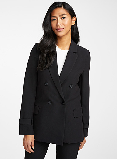 Rith double-breasted structured blazer
