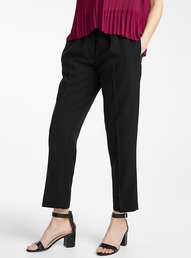 Samsoe & Samsoe Black Smilla straight pant for women