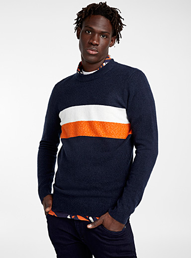 Tricolour sweater