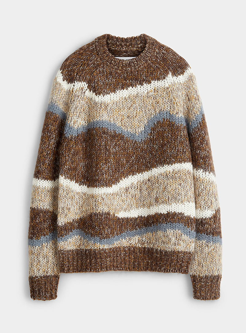 Vintage mohair-knit sweater