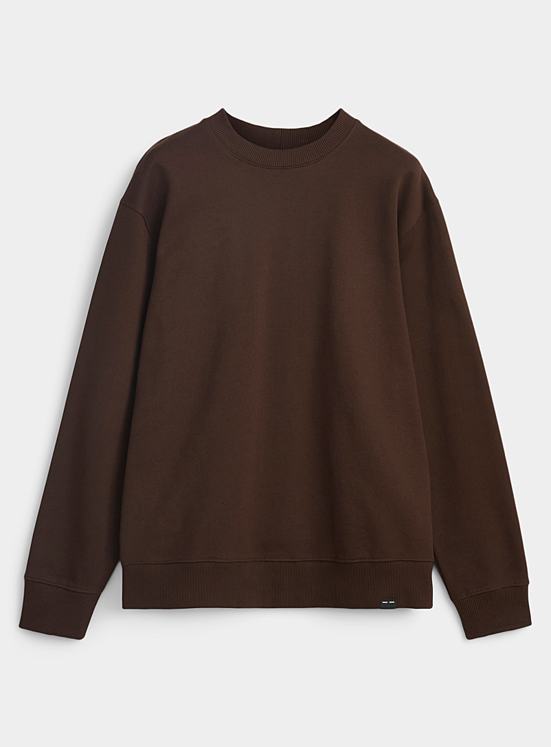 Sams?e & Sams?e Brown Loose chocolate sweatshirt for men