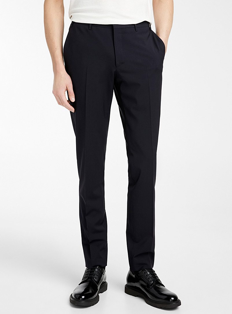 CC Collection Corneliani Marine Blue Reward pant for men