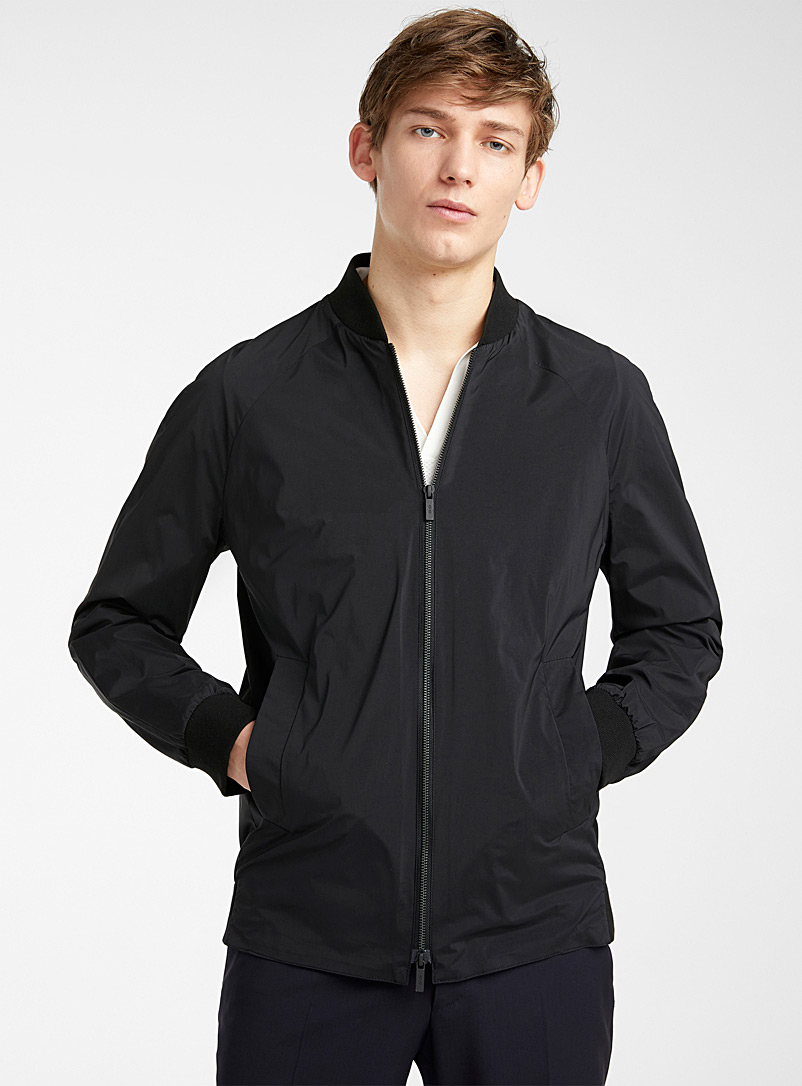 CC Collection Corneliani Black Kiton jacket for men