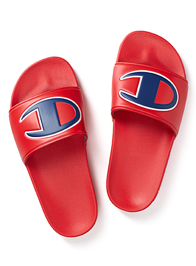 Oversized logo slides <br>Women