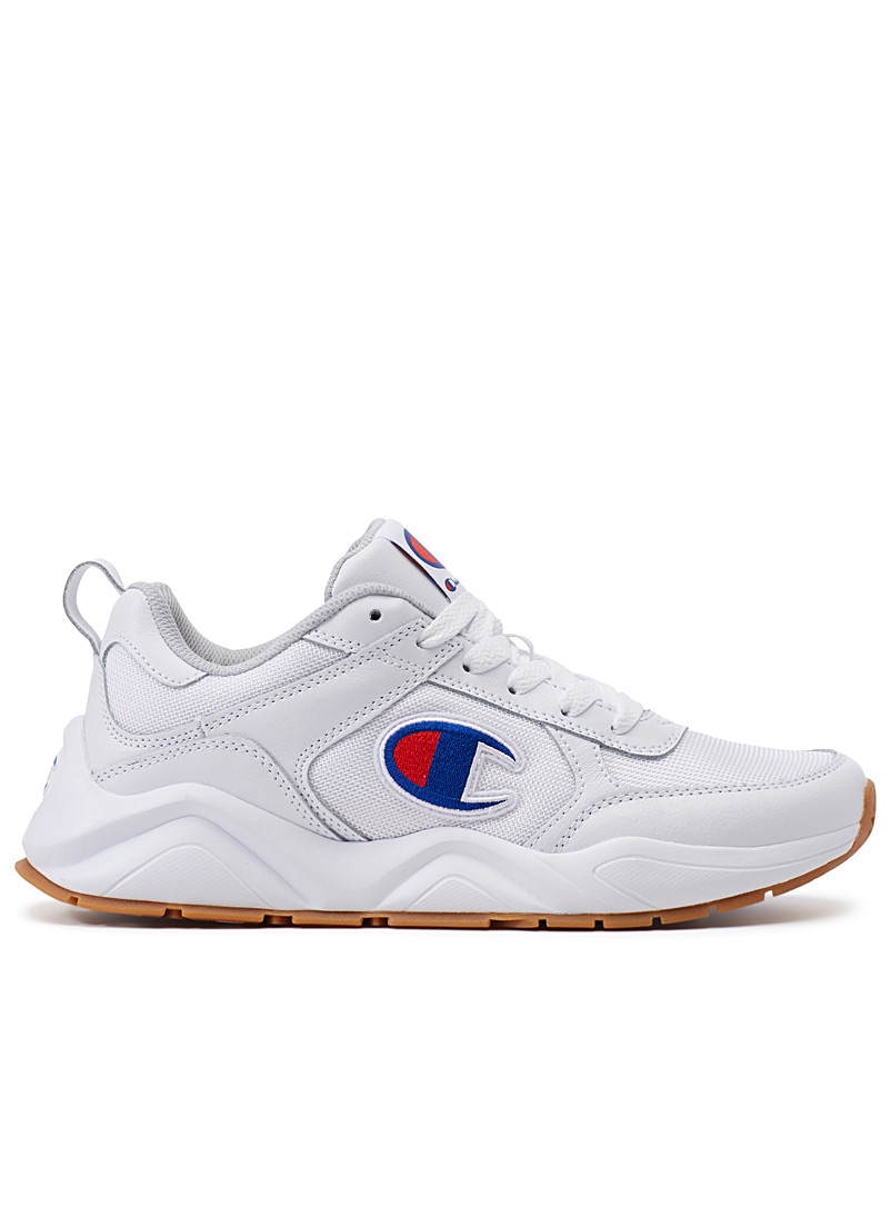 93 Eighteen classic leather sneakers  Men - Sneakers - White