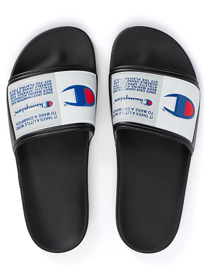 IPO Jock slides  Men - Sandals - Black