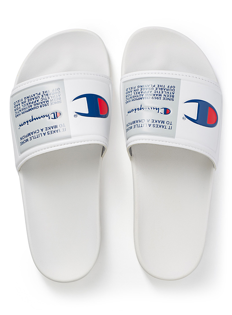 IPO Jock slides  Men - Sandals - White