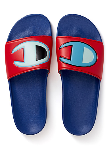 IPO colour block slides <br>Men
