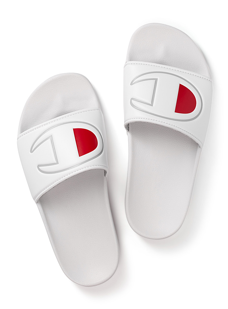 IPO slides  Women - Sandals - White