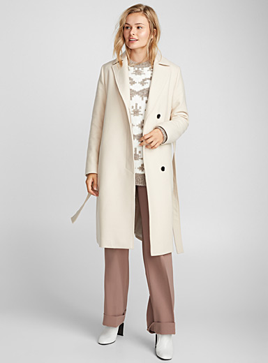 Victory belted coat