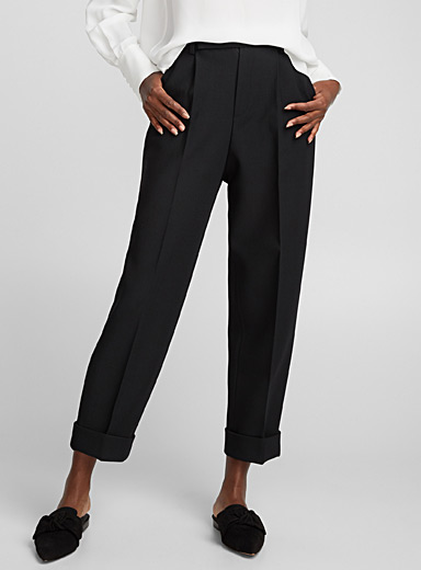 Julie pleated loose pant