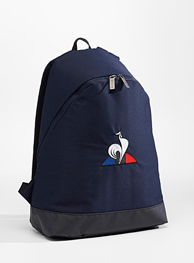 Minimalist logo backpack