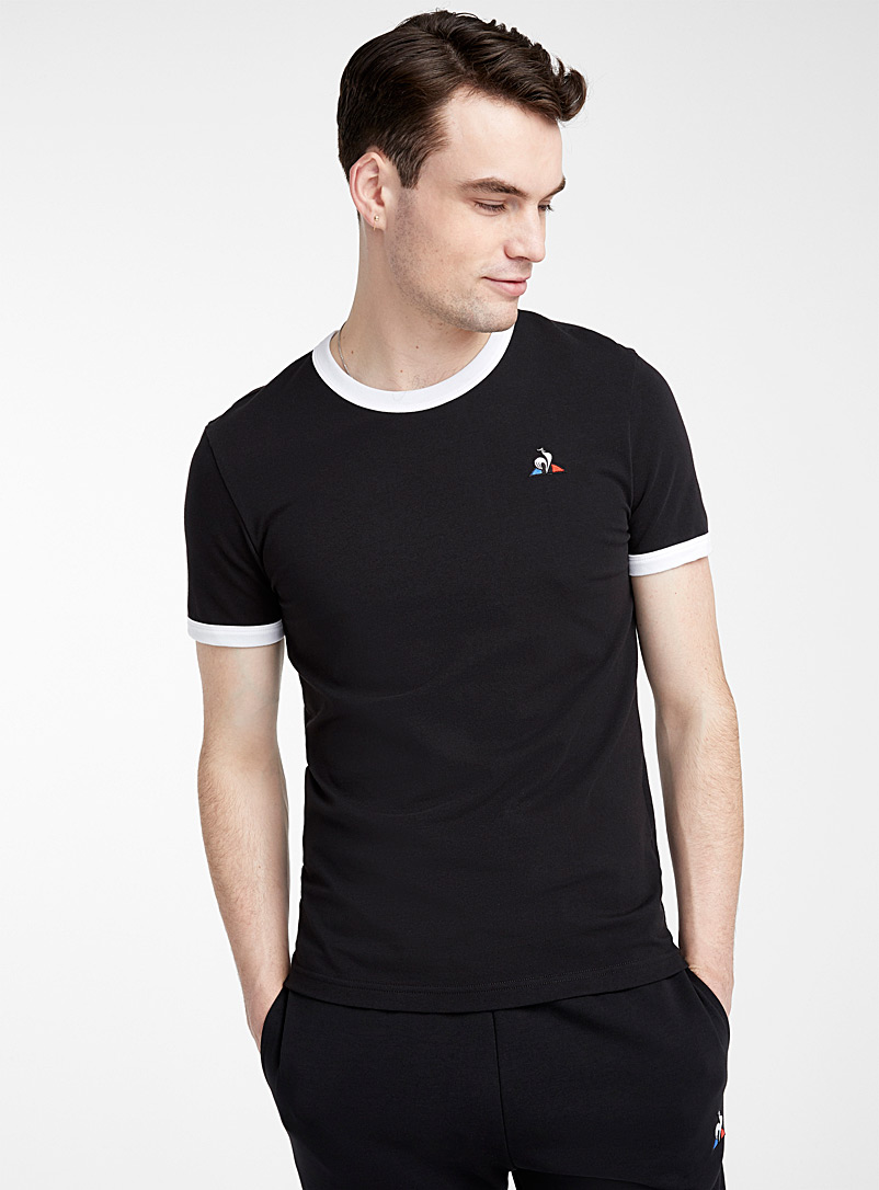 Le coq sportif Oxford Contrast trim T-shirt for men