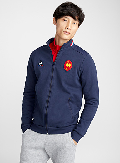 Le cardigan rugby