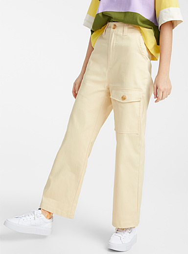 Mega pocket straight pant