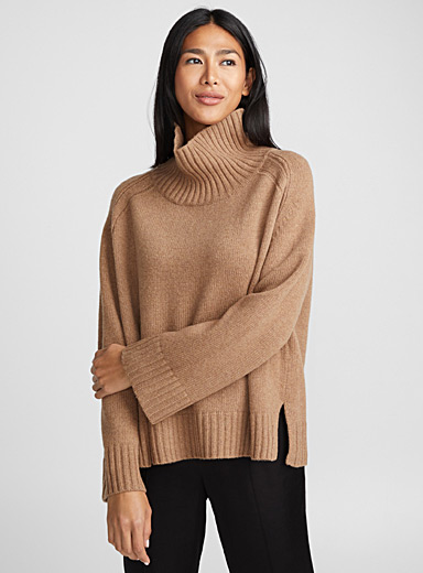 Le pull col montant Aleya