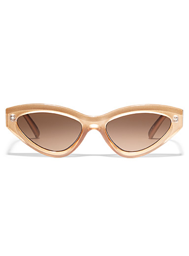 Le Specs Sand Synthcat cat-eye sunglasses for women