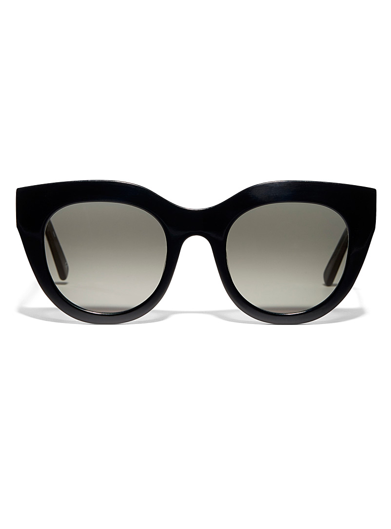 Airy Canary cat-eye sunglasses - Cat Eye - Black