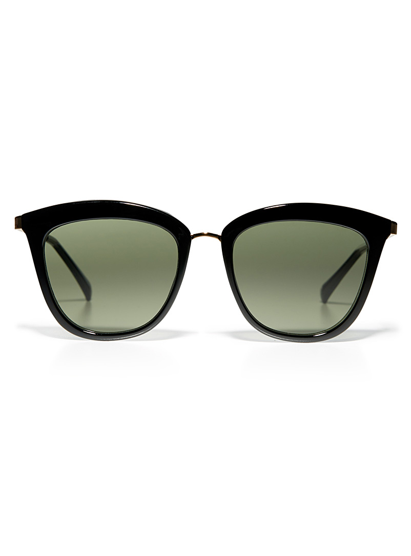 Caliente cat-eye sunglasses - Designer - Black