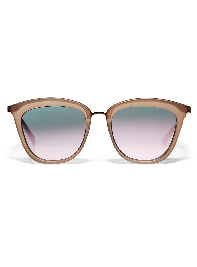 Caliente cat-eye sunglasses - Designer - Brown