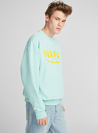 Pop colour logo sweatshirt