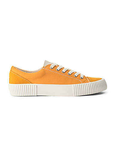 Shoe The Bear Golden Yellow Bushwick sneakers  Men for men