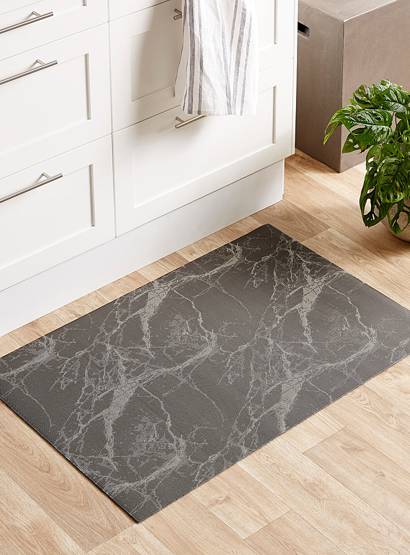 Simons Maison Light Brown Marble-like non-slip rug  60 x 90 cm
