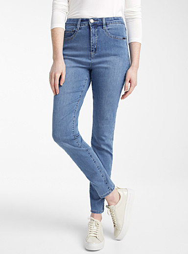 Le jeans skinny taille haute Suzanne