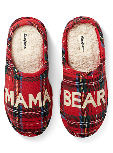 Mama Bear mule slippers